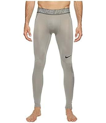Nike Pro Hypercool Men's Training Tights (S, Dust/Tumbled Grey/Black)