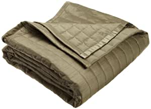 Twill and Birch Reflections Quilted Bedspread, Sage, King