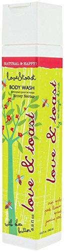 Love + Toast Body Wash - Honey Nectar - 8.2 oz