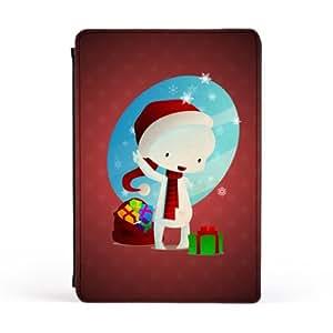 Christmas Deville Carcasa Protectora Premiun PU en Cuero, con Tapa para Apple® iPad Mini de DevilleArt + Se incluye un protector de pantalla transparente GRATIS