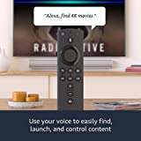 Fire TV Stick 4K streaming device with Alexa Voice