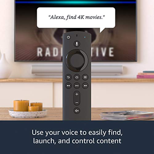 Fire TV Stick 4K streaming device with Alexa Voice Remote   Dolby Vision   2018 release