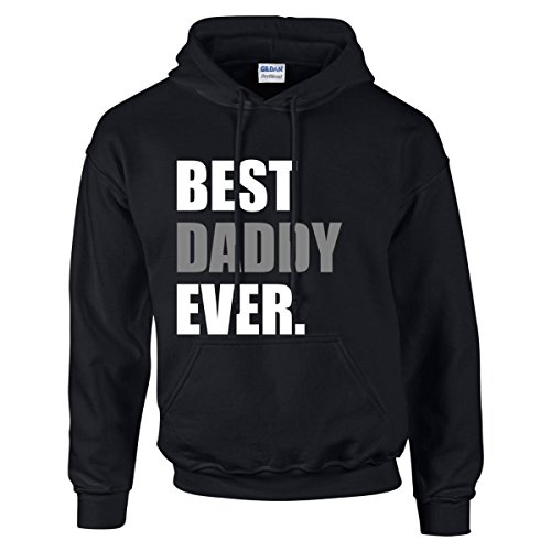 60 Second Makeover Limited Men's Best Daddy Ever Hoodie Hoody Jumper Top Prese XX-Large (Second Best Hoodie Sweatshirt)
