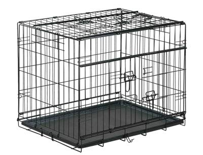 VADIGRAN Cage métallique pliable Premium - 91 x 61 x 69 cm - Noir - Pour chien: Amazon.es: Productos para mascotas