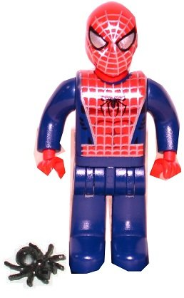 Lego Spiderman (Junior-figure)vin​tage 2004 From Set 4860 (Rare)