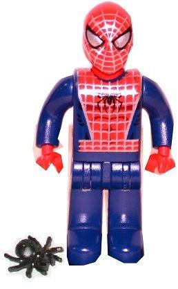 Lego Spiderman (Junior-figure)vintage 2004 From Set 4860 (Rare)
