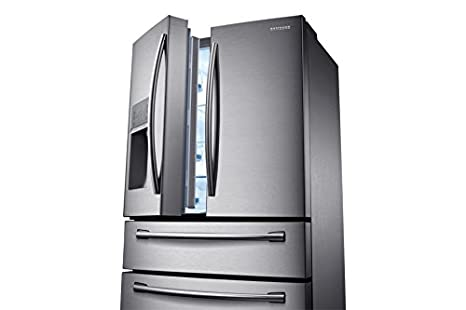 Samsung RF24HSESCSR Independiente 495L A+ Acero inoxidable nevera puerta lado a lado - Frigorífico side-