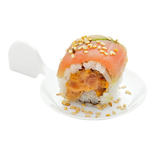 (Fish Shaped Tasting Plate, Fish Appetizer Plate, Dessert Plate - White - Plastic - Disposable - 100ct Box - Restaurantware)
