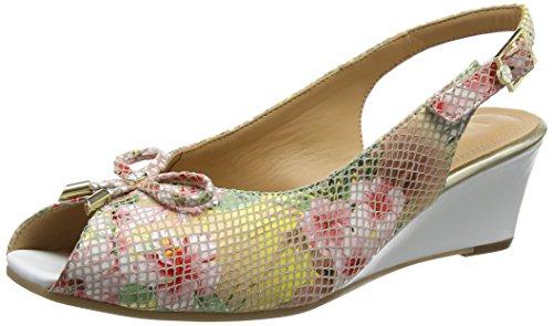 Van Dal Damen Oxley Sandalen Multicolour (tropical Floral)