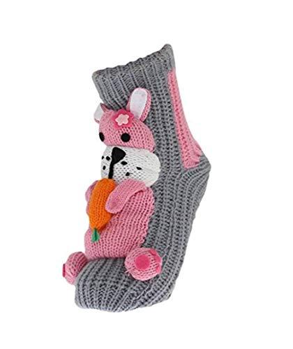 Grau kaninchen One Donna Size Calze Acvip IwZfPq