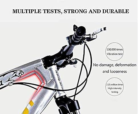 Bicicletas de montaña, bicicleta de montaña rígida de neumáticos de grasa de 24 pulgadas, cuadro de doble suspensión y horquilla de suspensión Bicicleta de montaña ...