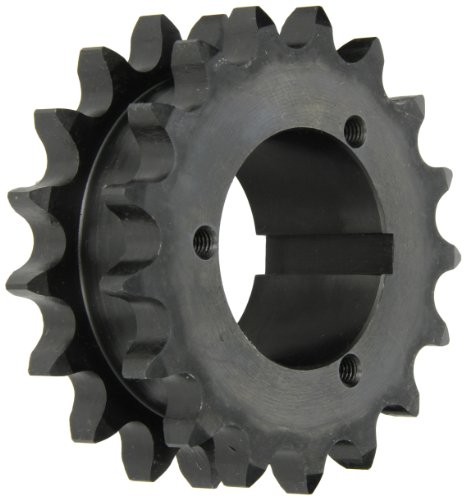 Browning DS80Q17 Roller Chain Sprockets, Split Taper, Bushed, Steel, 2 Strand, 80 Pitch, 17 Teeth by Browning