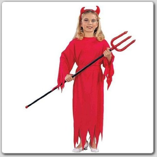 RG Costumes Devil Girl Costume, Child Medium/Size 8-10