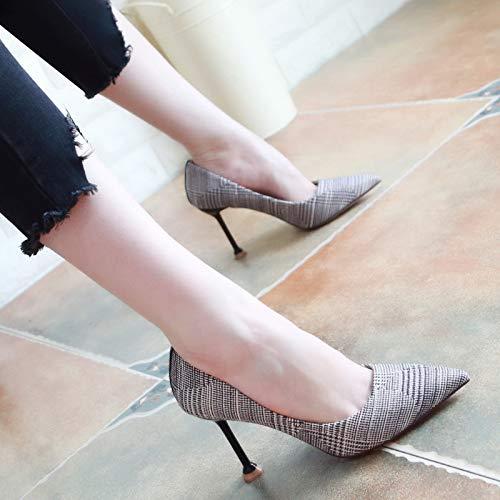 KPHY Damenschuhe Herbst Dünn und und und Dünner Dünne Frauen Schuhe Sagte 18Cm Hohe Schuhe Mode Farben Flache Schuhe Einfache Schuhe.38 Rosa 5b6742