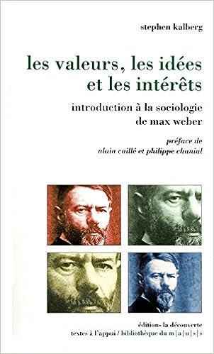 Livres gratuits en ligne Les valeurs, les idées et les intérêts pdf, epub ebook