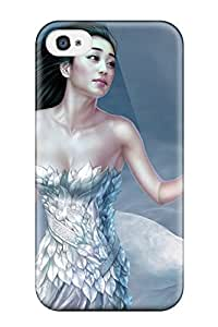 New Style 7034318K36581756 Series Skin Case Cover For Iphone 4/4s(cg Asian Girl)