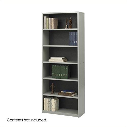 (Bookcase,6-Shelf,GY)
