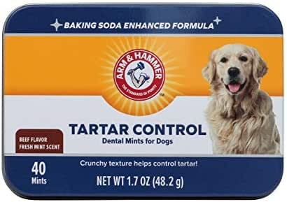 Dog Treats: Arm & Hammer Dental Mints