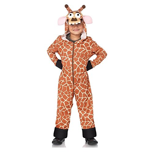 [GSG Melman the Giraffe Costume Kids Madagascar Halloween Fancy Dress] (Kids Halloween Devil Costumes)