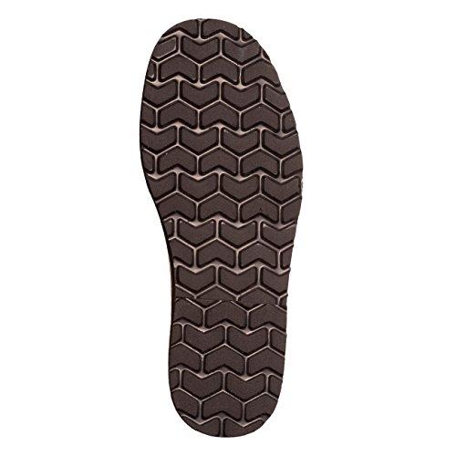 Minorquines - Sandales Avarca Cuir Negro - Homme
