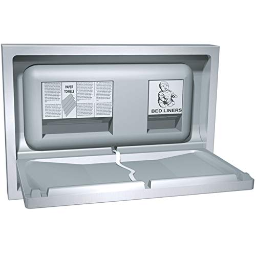 ASI American Specialties 9013-9 Baby Changing Station, Stainless Steel
