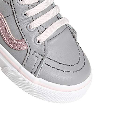 Baskets Alloy Zip Mixte Sk8 Pink Metallic Bébé Hi Vans Heavenly fqtPO