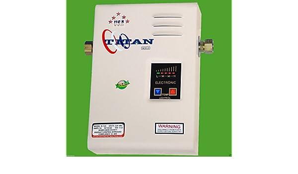 gracelove eléctrico SCR2 Titan N-120 calentador calentador de agua, nuevo: Amazon.es: Coche y moto