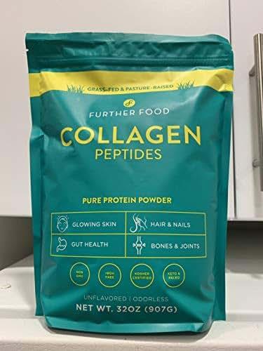 Further Food Collagen Peptides Protein Powder, 32oz