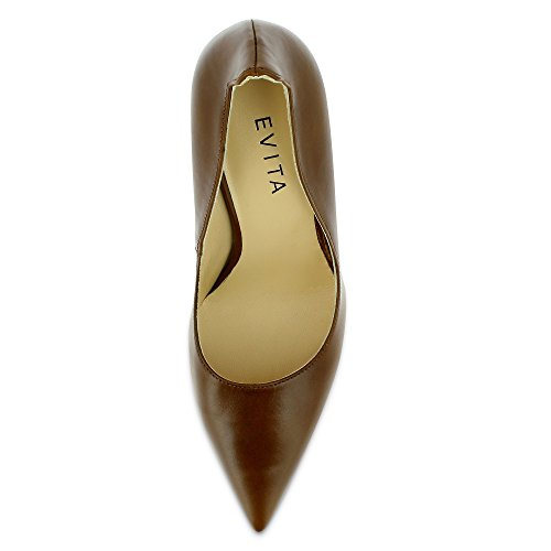 Evita Shoes Natalia - Tacones Mujer Marrón - marrón (cognac)