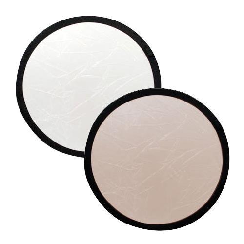 - Lastolite LL LR1206 12-Inch Collapsible Reflector (Sunfire/White)