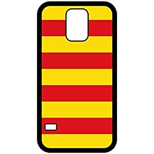 Catalonia Flag Black Samsung Galaxy S5 Cell Phone Case - Cover