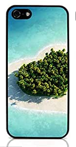 Sunshine beach island Hard Case for iPhone 5/5S Special Design