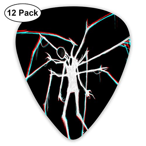HOOAL Custom Guitar Picks, Halloween Human Form Spider Guitar Pick,Jewelry Gift For Guitar Lover,12 Pack -