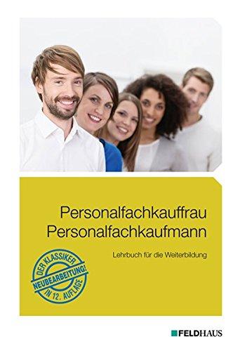 Personalfachkauffrau  Personalfachkaufmann  Lehrbuch Für Die Weiterbildung