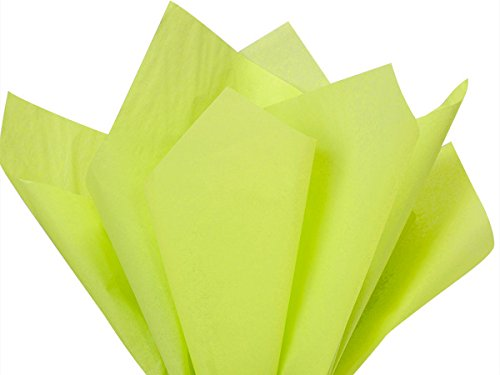 Leaf Green Tissue Paper 20x26'' 480 Sheet Ream (2 Reams) - WRAPS-CT2LE by Miller Supply Inc