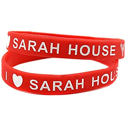 Relddd Silicone Wristbands Sports With Logo Sarah House Silicone Bracelet For Kids Motivation Wristbands With Sayings Set Pieces Estimated Price £25.99 -