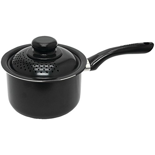 STARFRIT 034174-002-0000 Starbasix Saucepan with Perforated Lid (2.3qt) Home & Garden