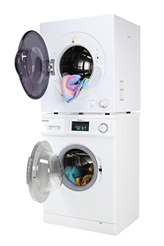 compact washer and dryer set - 1