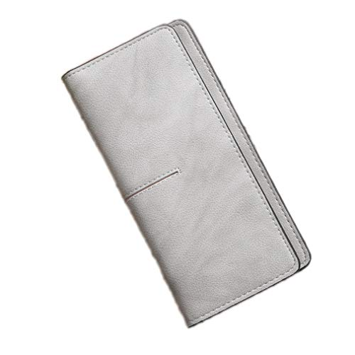 Women Envelope Wallets Cards ID Holders Soft PU Leather Lady Money Purse Bags Female Clutch Pocket by WUDEF