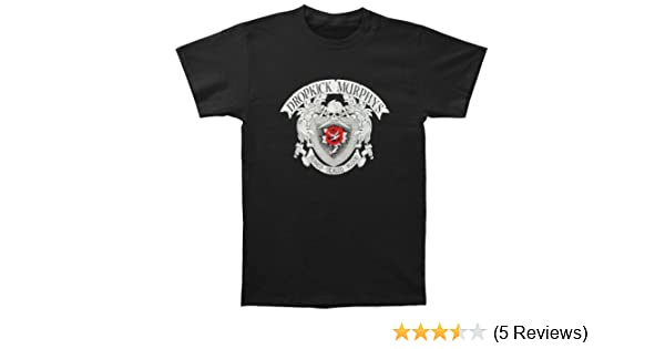 0728379f668 Amazon.com  Rockabilia Dropkick Murphys Men s Signed   Sealed Album T-Shirt  Small Black  Clothing