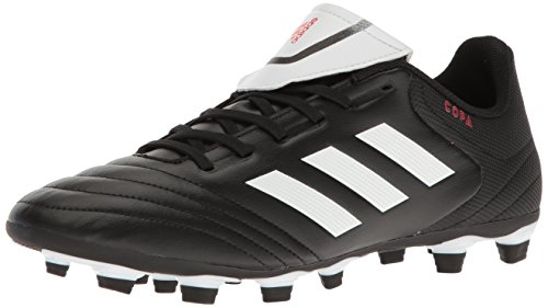 adidas Men's Copa 17.4 FxG Soccer Shoe, Black/White/Black, (7 M US)