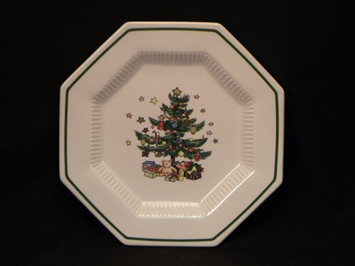 CHRISTMASTIME SALAD PLATE PS