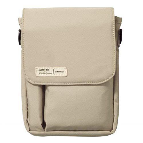 LIHIT LAB Belt Bag, Beige, 7.1 x 5.1 Inches