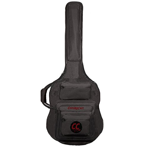 ChromaCast Pro Series Rudy Sarzo Signature Acoustic Bass Guitar Padded Gig Bag (Tacoma Acoustic Guitar)