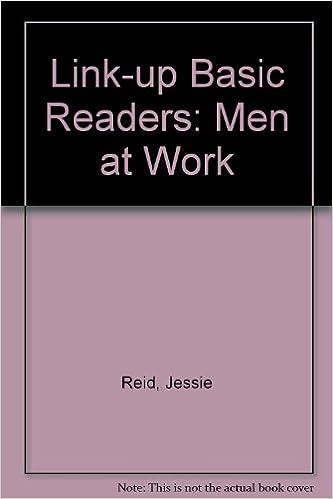 Link-up Basic Readers: Men at Work Trailer Bk  2: Jessie Reid, Joan