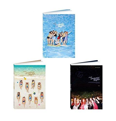 Away Cd Album - JYP TWICE - Summer Nights [Random ver.] (2nd Special Album) CD+Photobook+Photocards+Folded Poster+Free Gift