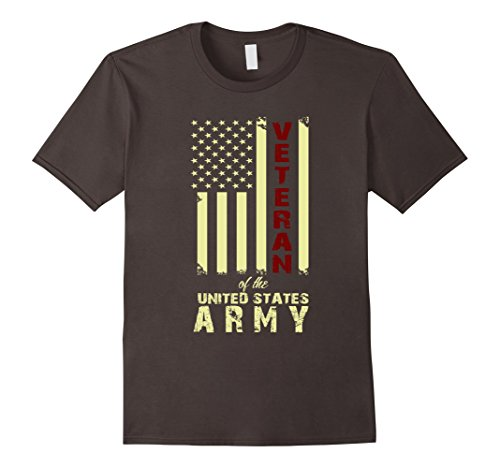 Men's Veteran Of The United States Army. Funny Gift For Veteran. Medium Asphalt
