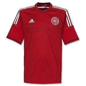 adidas Dinamarca Camiseta 2014/2015, XL, Rojo