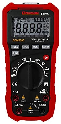 Dawson Tools DDM230C True-RMS Digital Multimeter