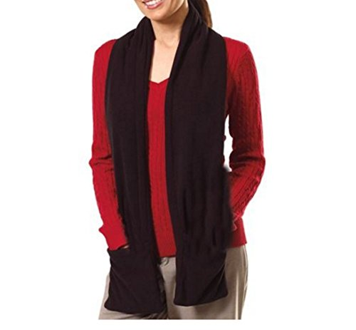 Clothing Battery Heated - Bits and Pieces - Micro Fleece Battery-Operated Heated Scarf - 66